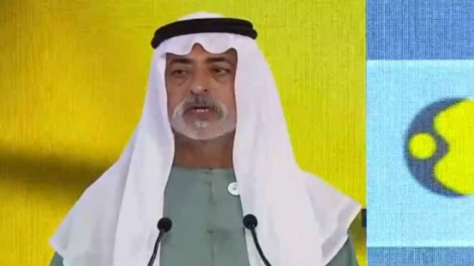 His Excellency Sheikh Nahayan Mabarak Al Nahayan, Cabinet Member and Minister of Tolerance, United Arab Emirates inaugurates WION Global Summit
