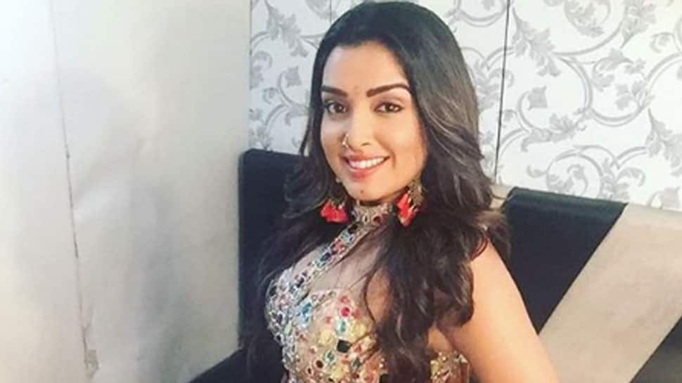 Aamrapali Dubey is waiting eagerly for Holi—Pic proof