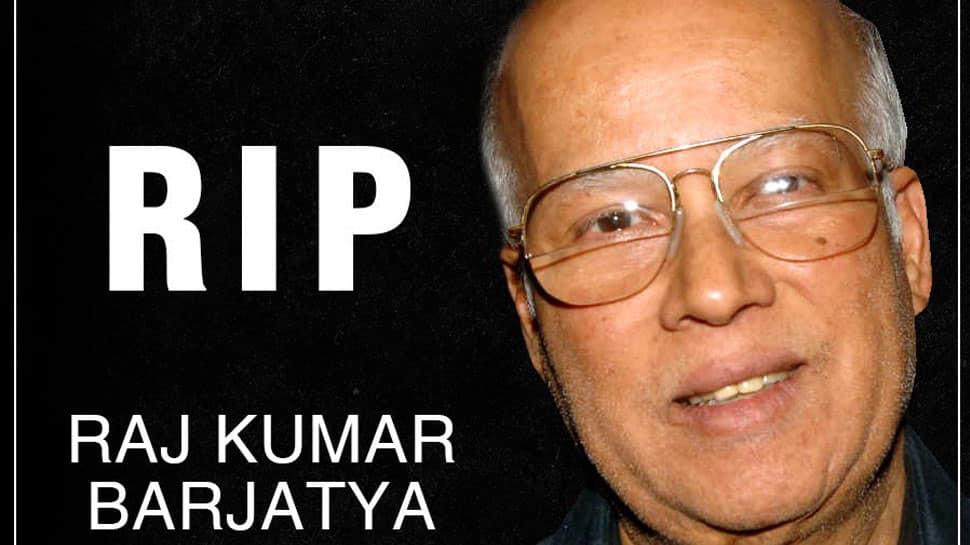 Film producer Raj Kumar Barjatya dies
