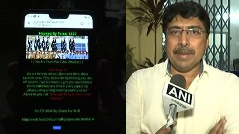 Chhattisgarh BJP website hacked, Pakistani hackers post message threatening serial blast in India