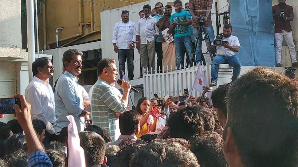 We have people's strength: Kamal Haasan's party Makkal Needhi Maiam turns one