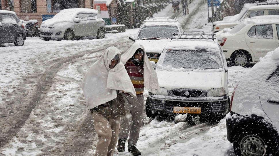 Snowfall in Manali, hailstorm in Shimla intensify cold conditions in Himachal Pradesh