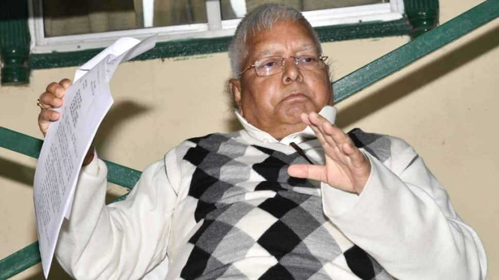 RJD supremo Lalu Prasad Yadav moves SC seeking bail in fodder scam