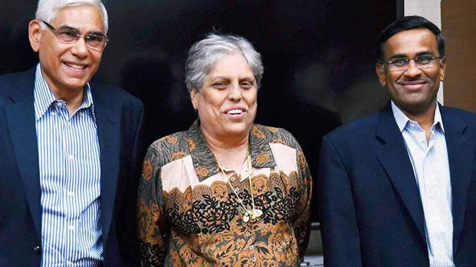 SC displeased over 'public sparring' between BCCI's CoA chief Vinod Rai, Diana Edulji