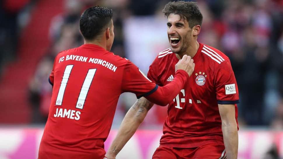 Bundesliga: Bayern Munich defeat Hertha Berlin 1-0, join Borussia Dortmund at top