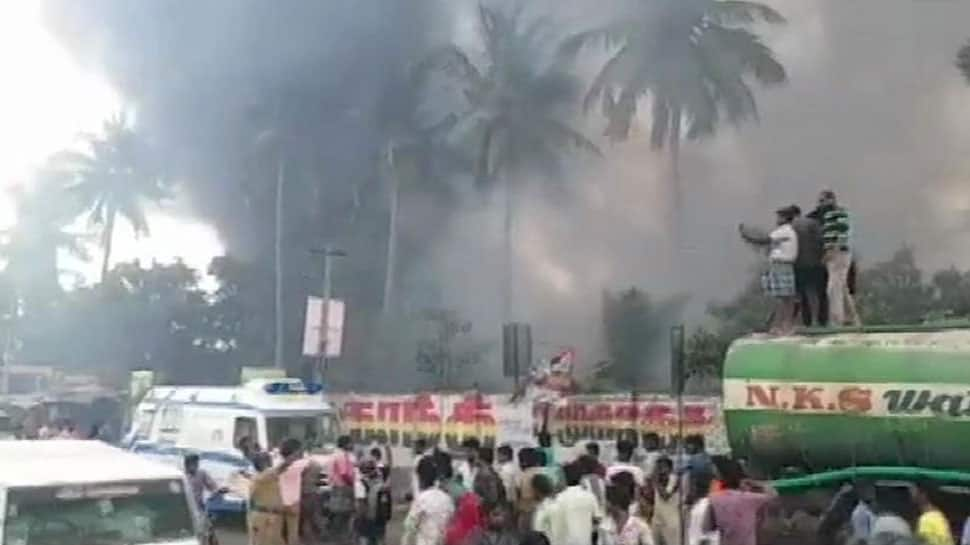 Major fire breaks out at Chennai's parking area, over 170 cars gutted in blaze