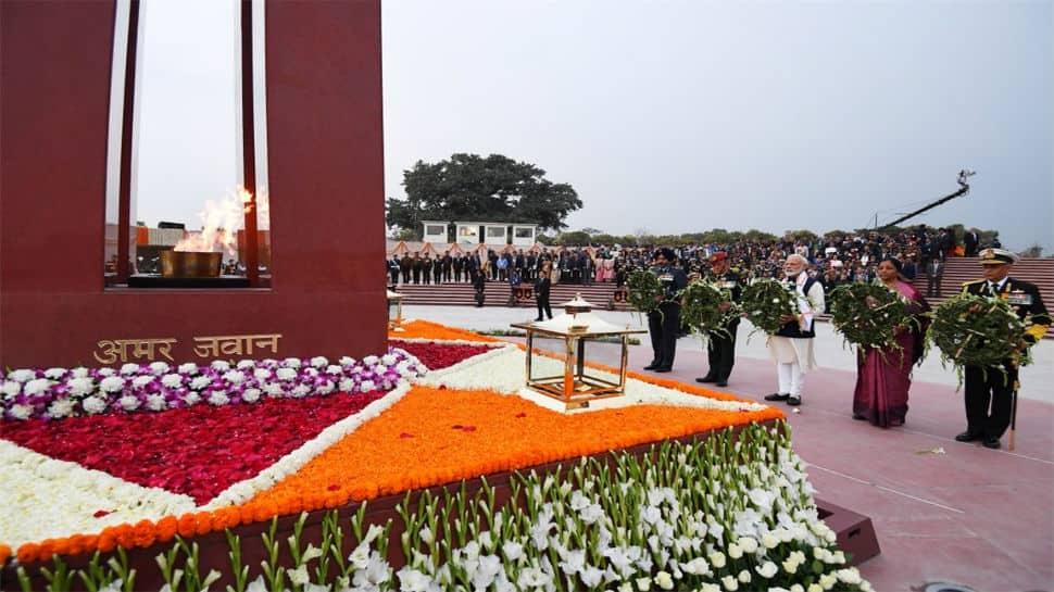 PM Modi salutes India's soldiers, pens message of gratitude at National War Memorial