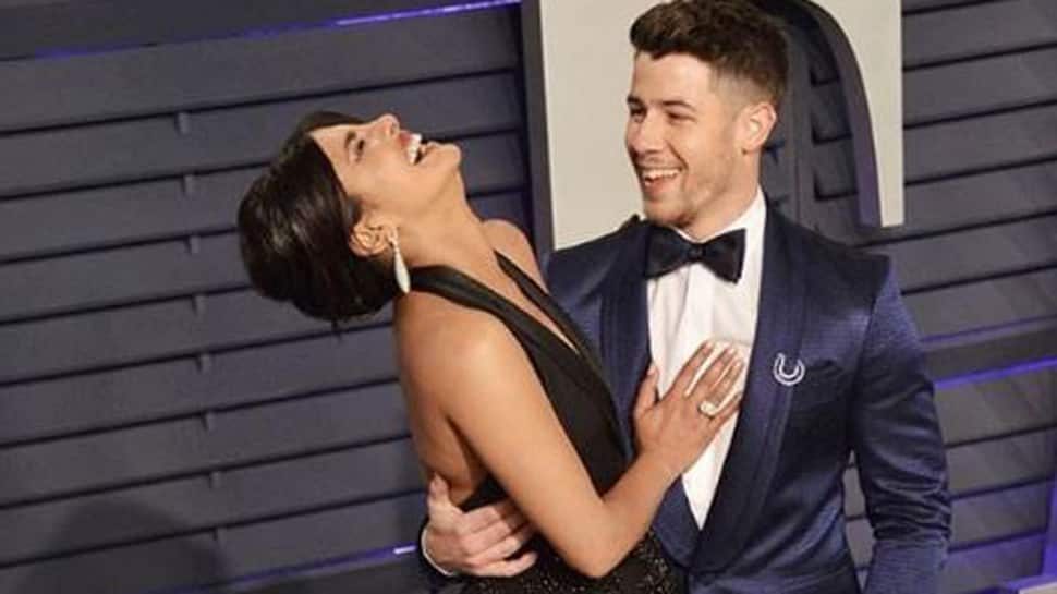 Priyanka Chopra guffaws as she poses with 'funniest guy' Nick Jonas in this pic-See inside