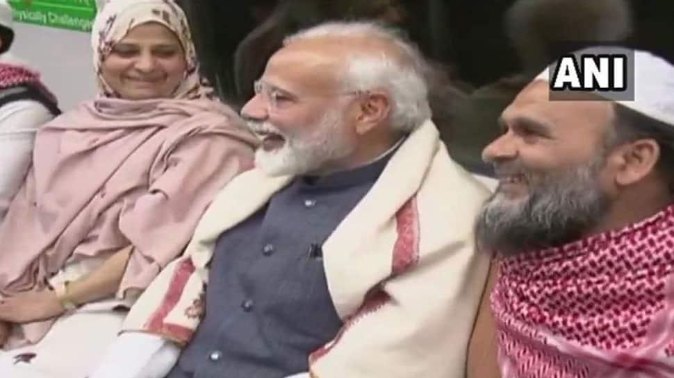 PM Narendra Modi takes Delhi Metro ride for ISKCON event