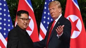 Donald Trump meets North Korea's Kim Jong-un in Vietnam for second nuclear summit