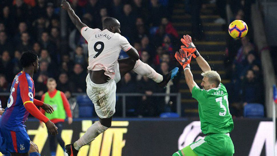 Romelu Lukaku led Manchester United register 3-1 win against Crystal Palace