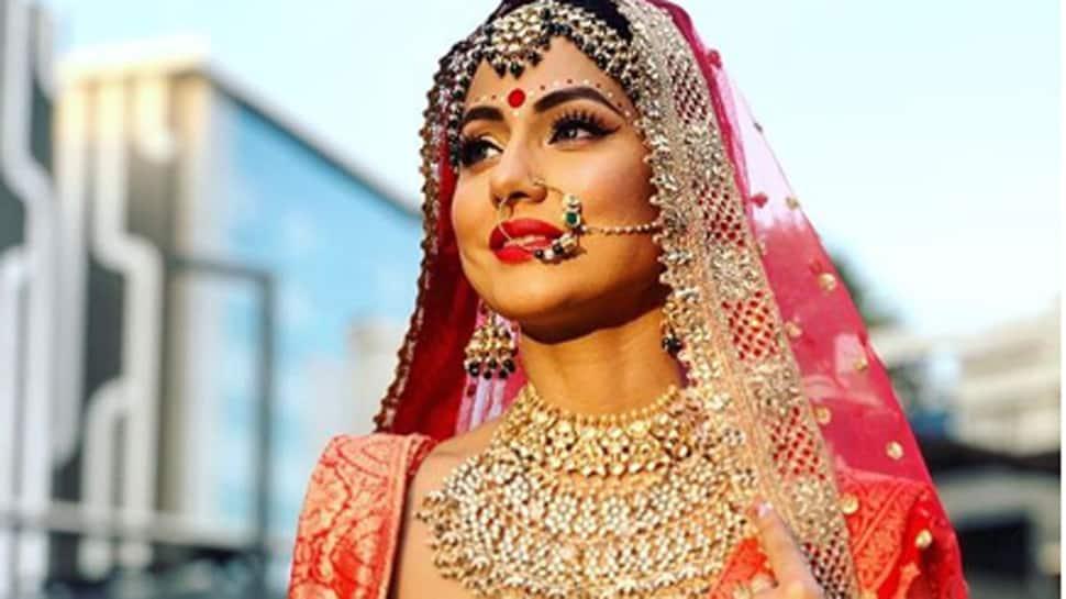 Hina Khan exudes elegance as 'Komo The Bong Bride'—Pics