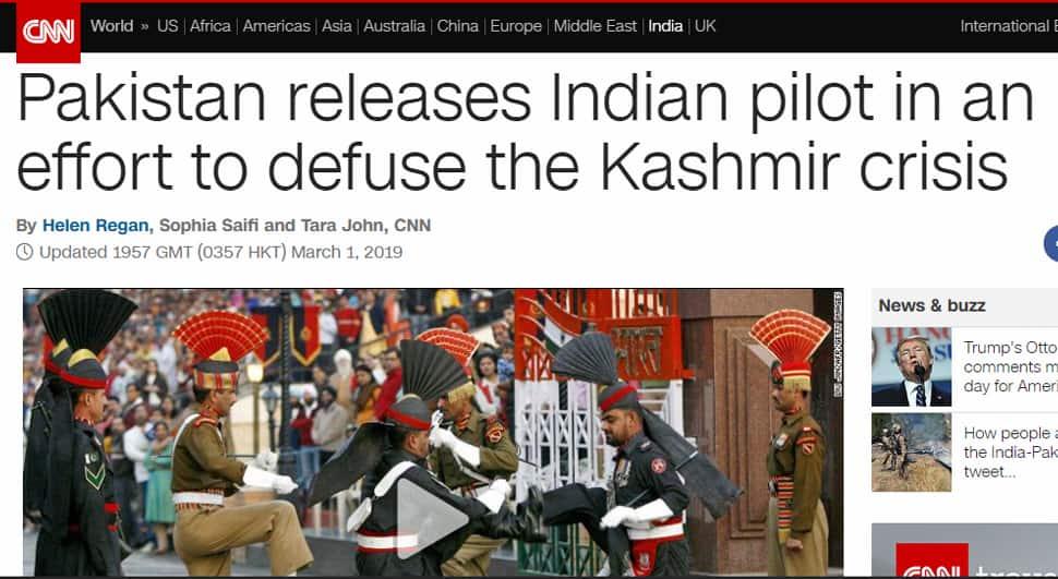 How world media reported IAF pilot Wing Commander Abhinandan