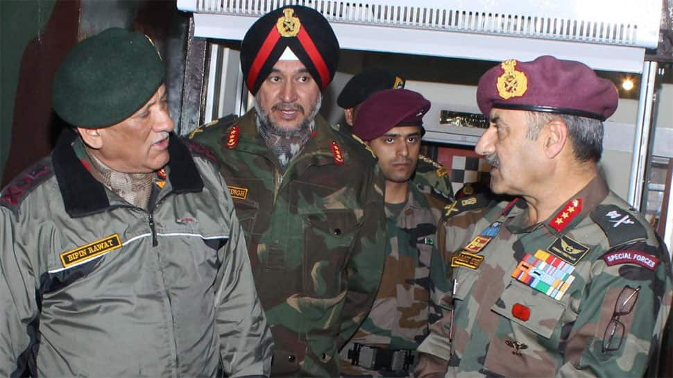 Army chief visits Jammu-based White Knight Corps, reviews security situation