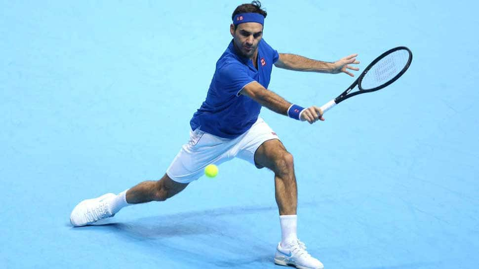 Roger Federer sees off Stefanos Tsitsipas to lift 100th ATP title in Dubai
