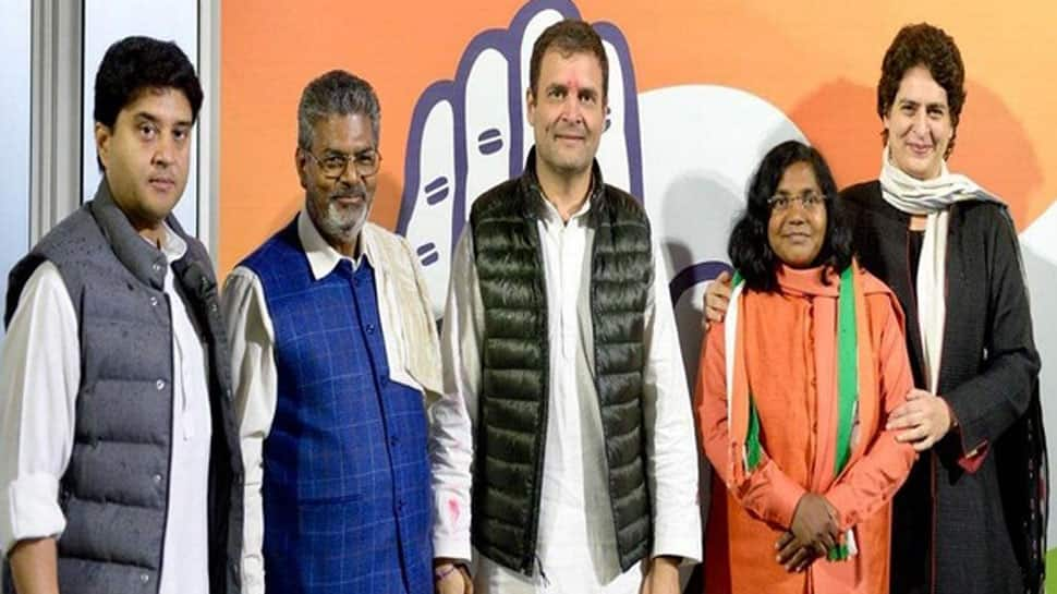 Ahead of Lok Sabha election, sitting BJP MP Savitribai Phule joins Congress