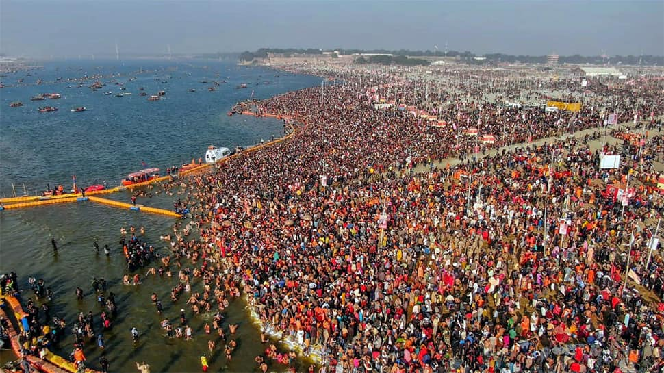 Kumbh mela to end with last holy dip on Mahashivratri on Monday