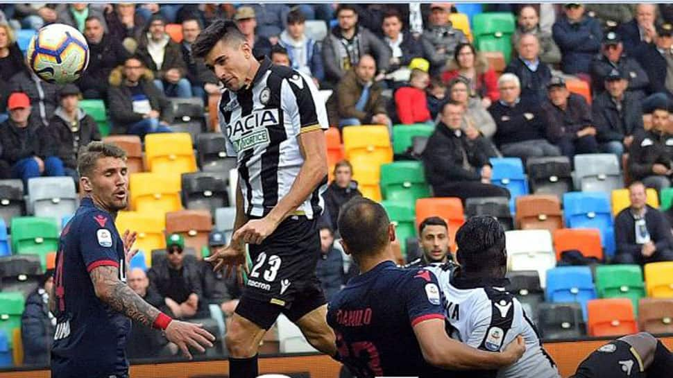 Serie-A: Udinese snatch late 2-1 win in key relegation clash against Bologna