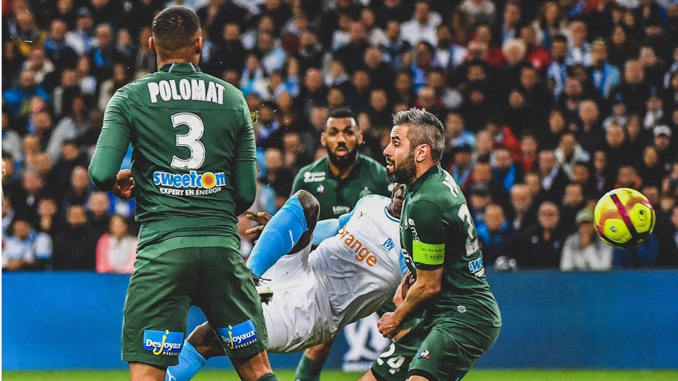 Ligue 1: Mario Balotelli's flying volley helps Marseille sink St Etienne