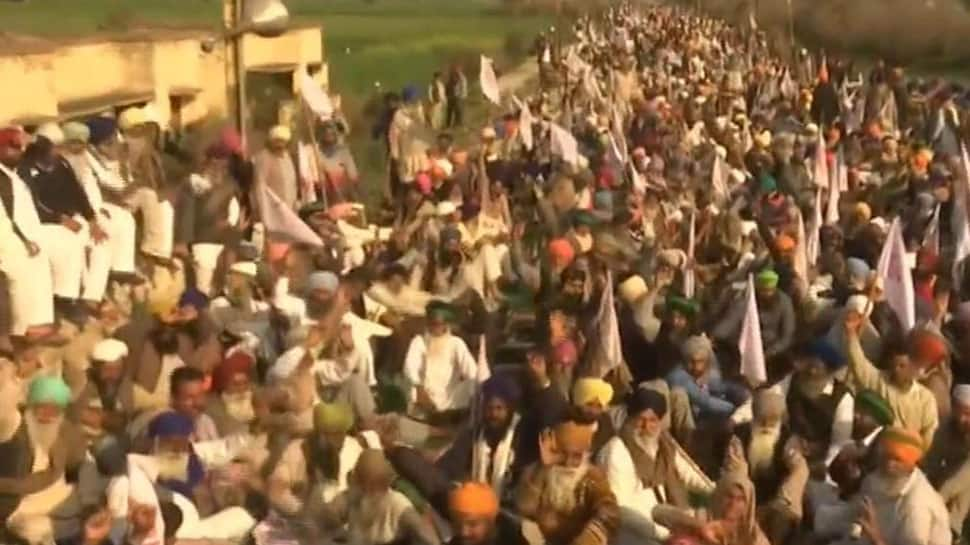 Farmers block railway tracks in Amritsar, demand implementation of Swaminathan report