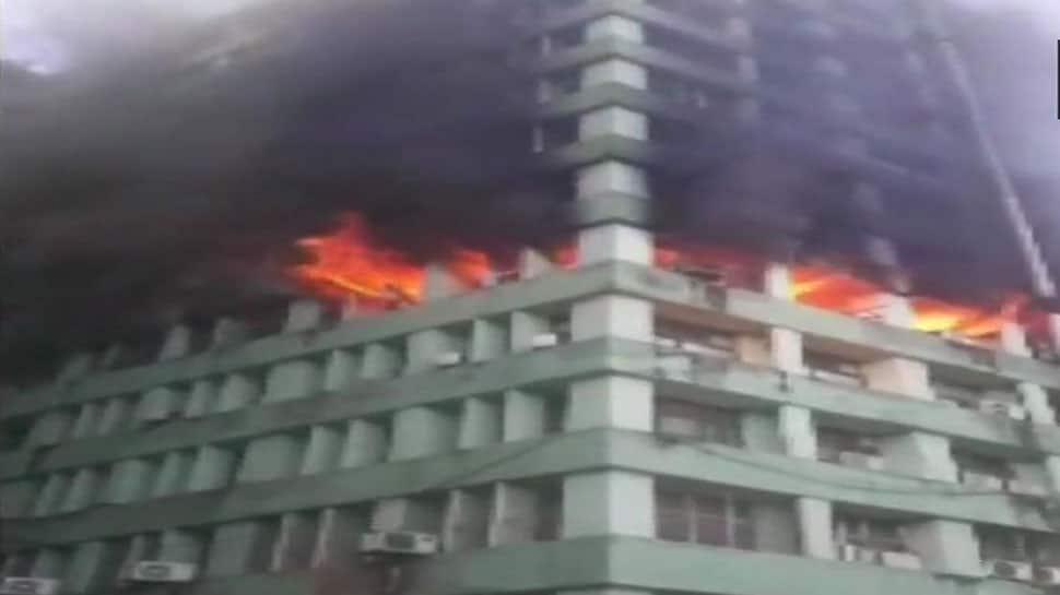 Delhi's CGO Complex fire under control; CISF personnel dead