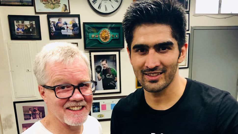 Vijender Singh set to make US pro circuit debut on April 12, to start training under legendary coach Freddie Roach