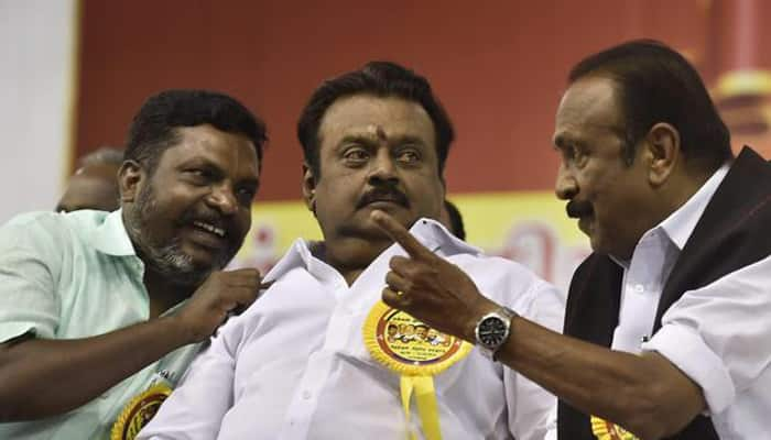 Alliance talks with AIADMK inconclusive, says DMDK leader Sudhish