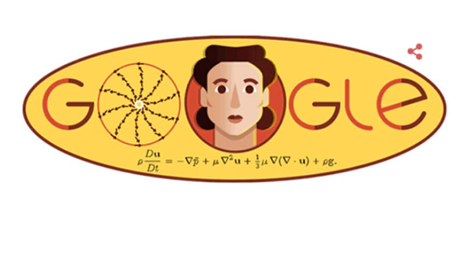 Google Doodle celebrates influential Russian mathematician Olga Ladyzhenskaya's 97th birthday