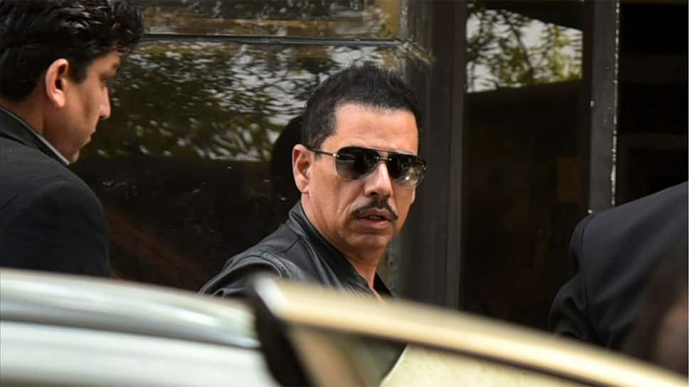 Won't enter active politics till name is cleared: Robert Vadra