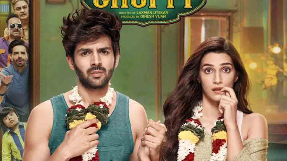 Kartik Aryan, Kriti Sanon starrer Luka Chuppi rakes in Rs 49 crore