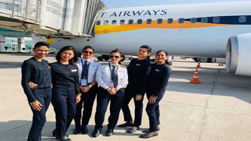 Jet Airways operates all-women crew flights on International Women's Day