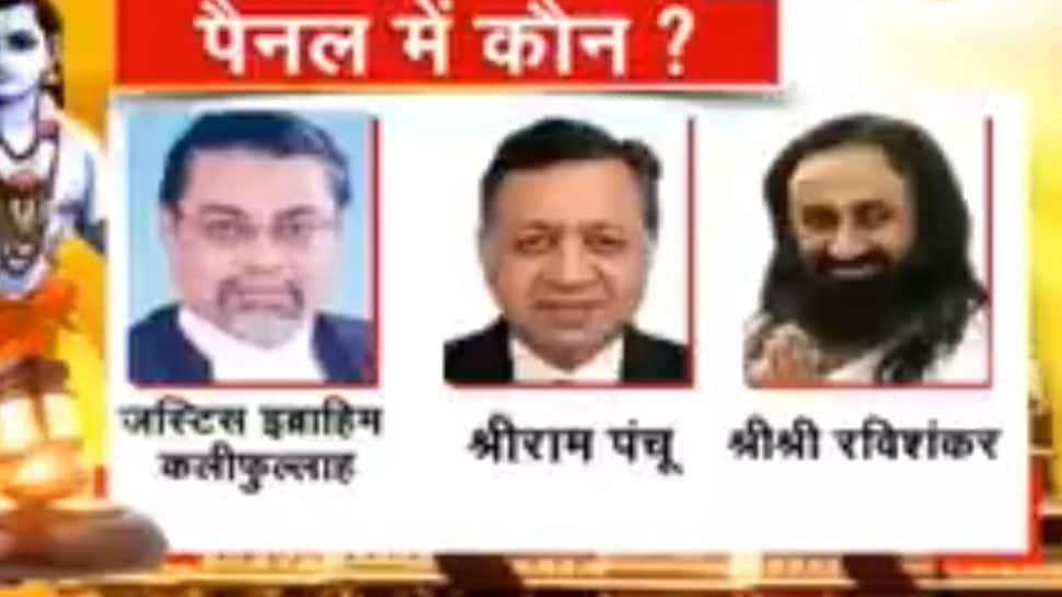 FM Ibrahim Kalifulla, Sri Sri Ravi Shankar and Sriram Panchu named mediators in Ayodhya land dispute case