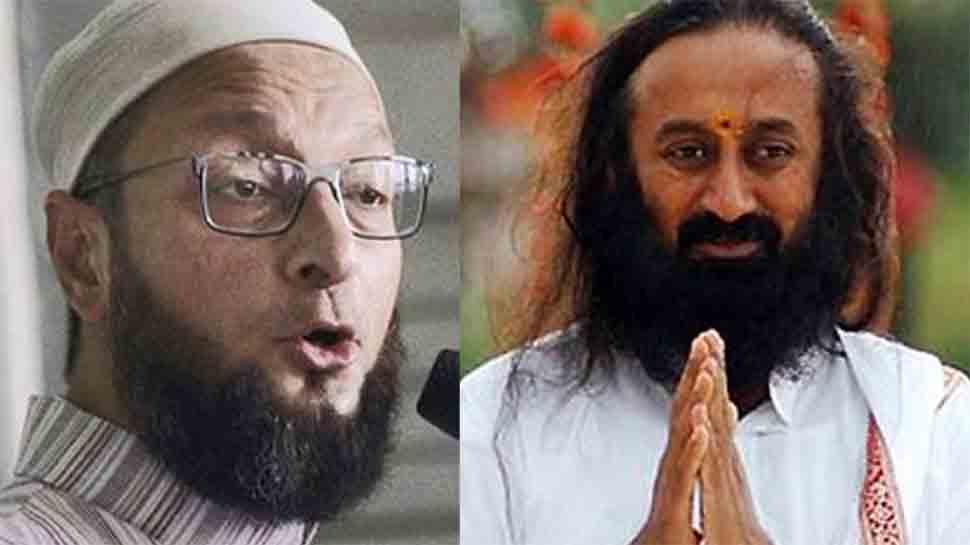 Ayodhya case: Asaduddin Owaisi objects to Sri Sri Ravi Shankar's name, calls for 'neutral' mediator