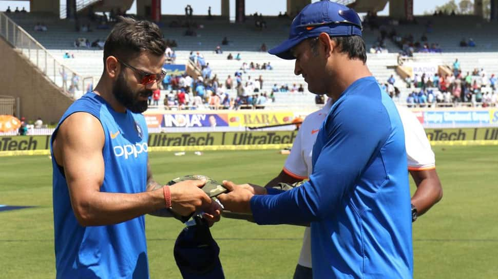 Team India wears special caps during Ranchi clash as tribute to Pulwama martyrs