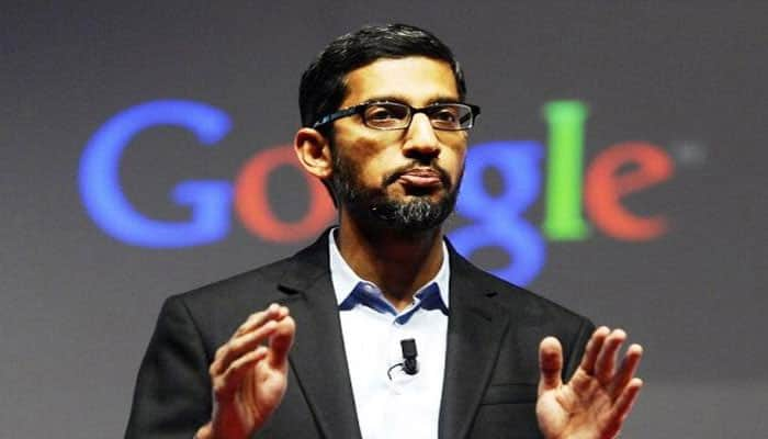 Sundar Pichai celebrates Women's Day, meets students in India