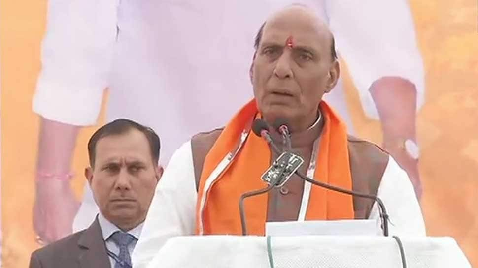 Kashmiris will always remain the people of India: Rajnath Singh