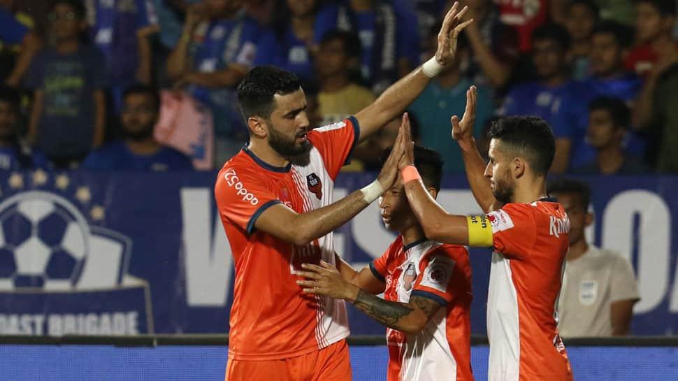 ISL 2018-19: FC Goa beat Mumbai City FC 5-1 in the first leg of 2nd semi-final