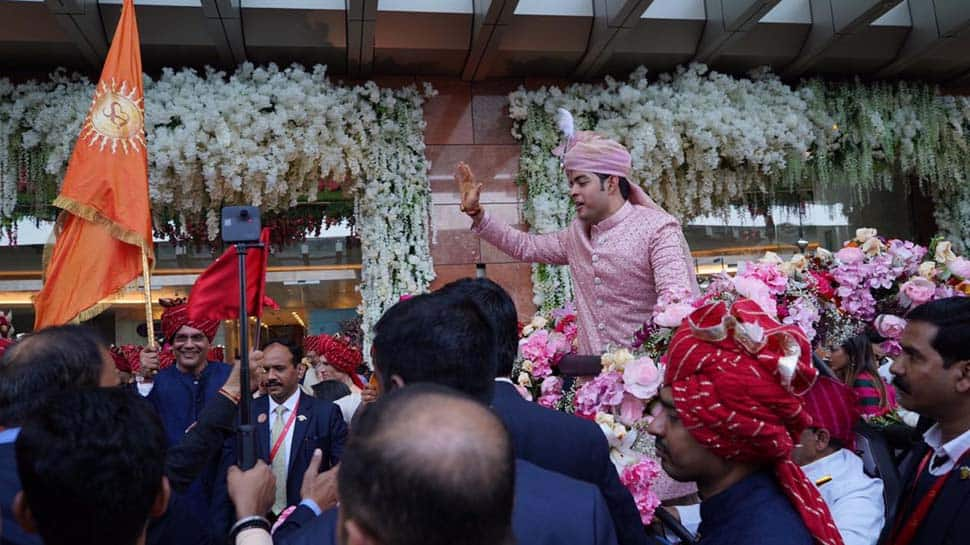Akash Ambani-Shloka Mehta wedding ceremony