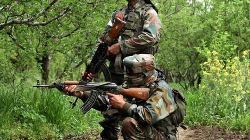 Encounter between terrorists and security forces underway in Pulwama's Tral