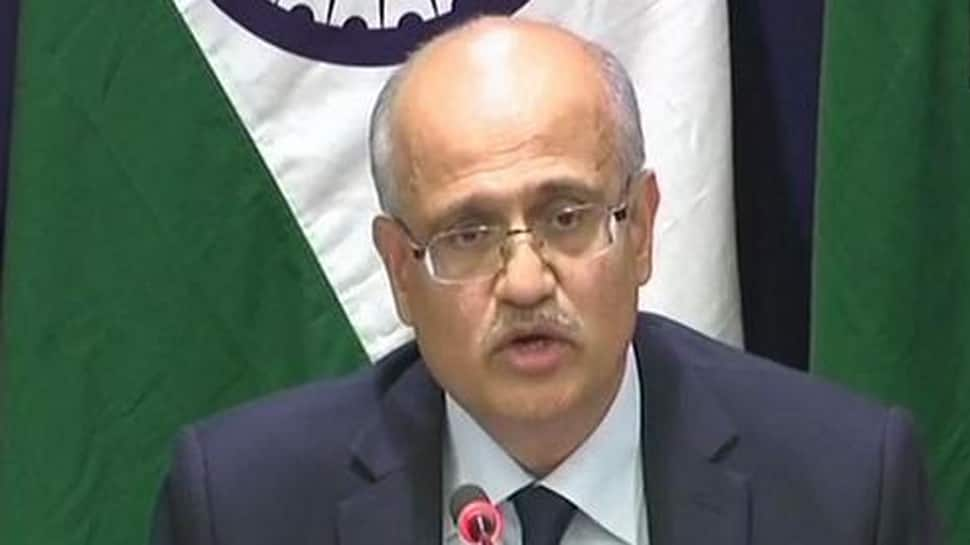 Foreign Secretary Vijay Gokhale on 3-day visit to the US, to meet Trump administration officials