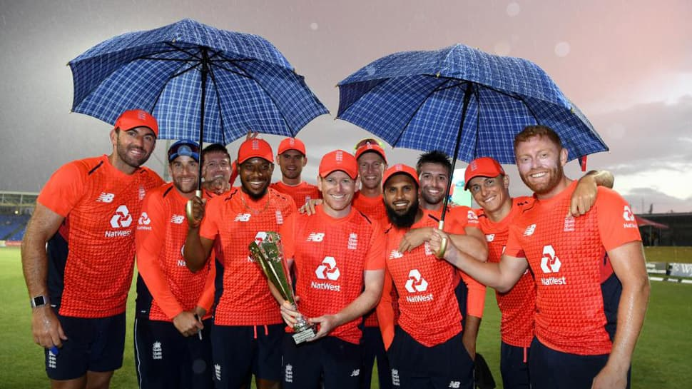 England thrash West Indies again to sweep T20I series