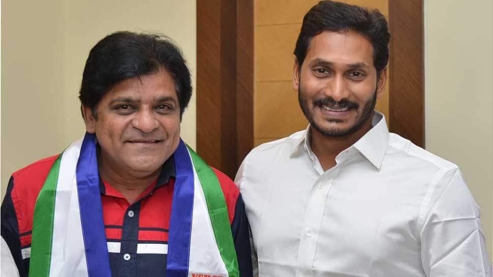 Telugu actor and comedian Ali joins YSRCP ahead of Lok Sabha 2019 polls