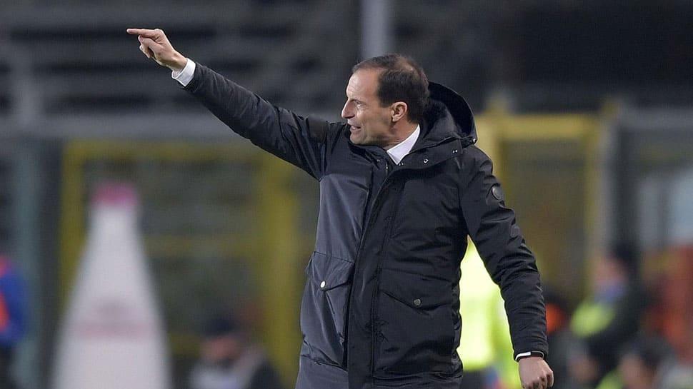Coach Massimiliano Allegri in his element as Juventus plot comeback