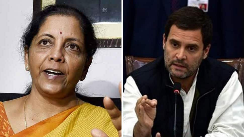 Nirmala Sitharaman schools Rahul Gandhi on 'martyr' status for CAPF personnel, blames UPA for inaction