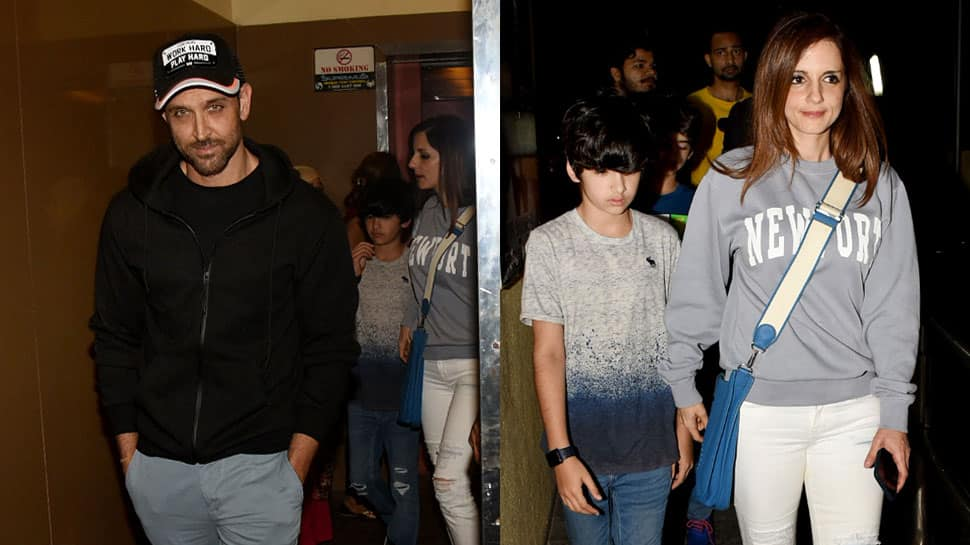 Hrithik Roshan enjoys movie time with Sussanne Khan and kids—See pics