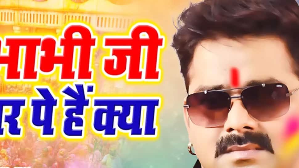 Pawan Singh releases latest Holi song 'Bhabhiji Ghar Pe Hai Kya'—Watch