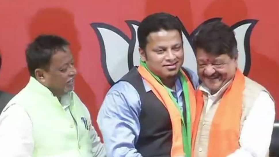 Expelled TMC MP Anupam Hazra joins BJP