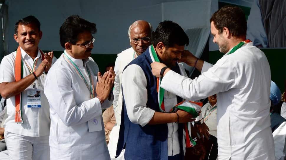 Hardik Patel joins Congress; praises Rahul Gandhi, attacks PM Modi