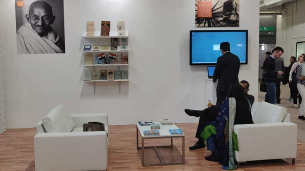 Mahatma Gandhi's works on display at Indian Pavilion in London Book Fair
