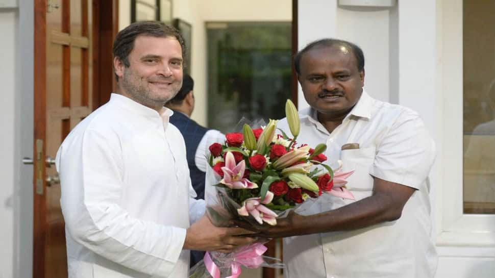 Congress, JD(S) agree on 20-8 seat deal for Lok Sabha election in Karnataka